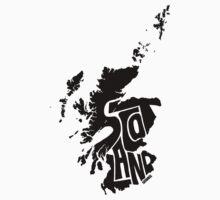 Scotland Black by seaning