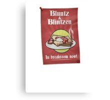 Archer - Bluntz & Blintzen Canvas Print