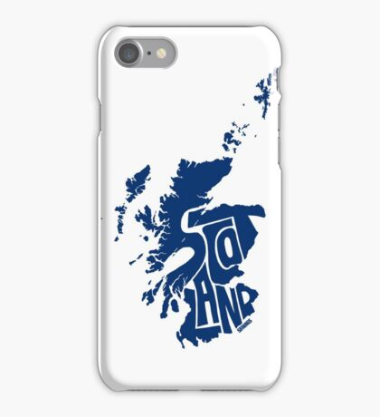 Scotland Blue iPhone Case/Skin