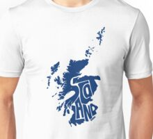 Scotland Blue Unisex T-Shirt