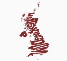 United Kingdom Red One Piece - Short Sleeve
