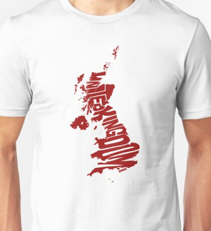 United Kingdom Red Unisex T-Shirt