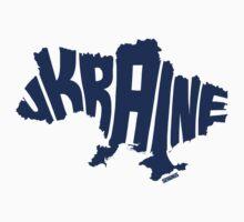 Ukraine Blue One Piece - Short Sleeve