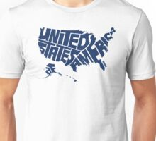 USA Blue Unisex T-Shirt