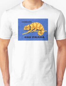 Prague Zoo Chameleon Matchbox Label Unisex T-Shirt