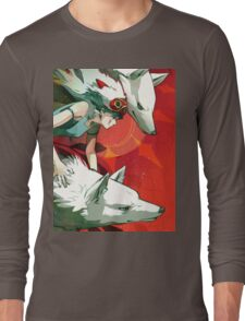 Mononoke Hime Long Sleeve T-Shirt