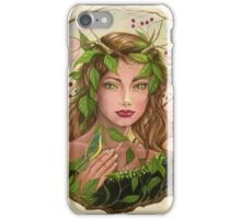 The Lady of the Greenwood iPhone Case/Skin