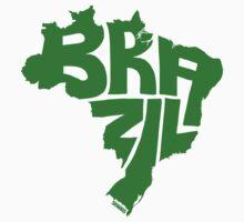 Brazil Green Baby Tee