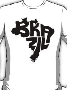 Brazil Black T-Shirt