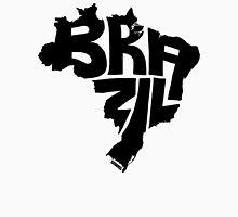 Brazil Black Unisex T-Shirt