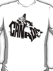 Canada Black T-Shirt