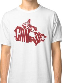 Canada Red Classic T-Shirt