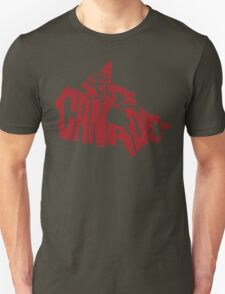 Canada Red Unisex T-Shirt