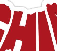 China Red Sticker