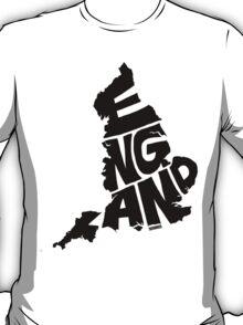 England Black T-Shirt