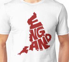 England Red Unisex T-Shirt