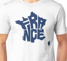 France Blue Unisex T-Shirt