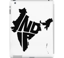 India Black iPad Case/Skin