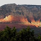Sedona Sunset by carol selchert