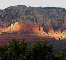 Sedona Sunset by carol selchert