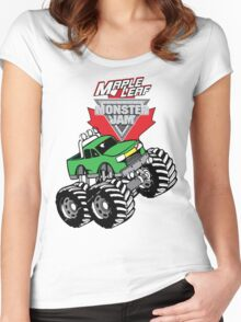 Monster Jam Car Women's Fitted Scoop T-Shirt