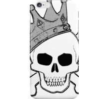 Skull King iPhone Case/Skin