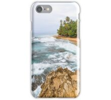 Beach at Manzanillo Costa Rica iPhone Case/Skin