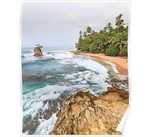Beach at Manzanillo Costa Rica Poster