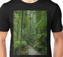 A walk through the rainforest in Dorrigo, NSW Unisex T-Shirt