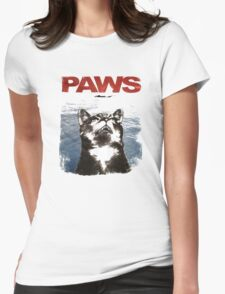 paws vision Womens Fitted T-Shirt