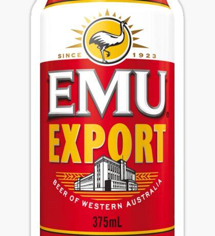 Emew Export Sticker