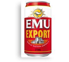 Emew Export Canvas Print