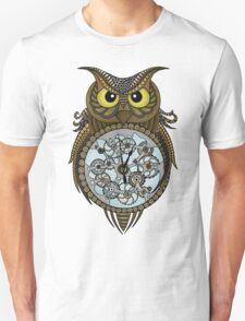 Steam punk owl Unisex T-Shirt