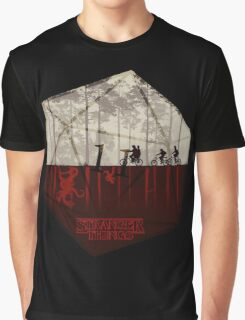 Stranger Things - Dice Graphic T-Shirt