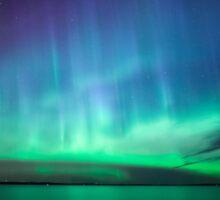 Beautiful northern lights Sticker
