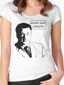 Good God Lemon Women's Fitted Scoop T-Shirt