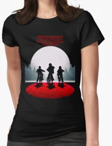 Stranger Things - Moon Blood Womens Fitted T-Shirt