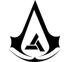 Assassins creed = Abstergo Industries Photographic Print