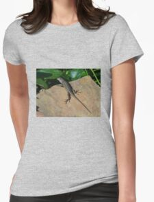 Lizard Womens Fitted T-Shirt