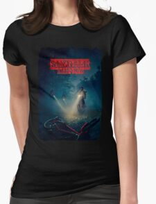 Stranger Things - Poster Womens Fitted T-Shirt