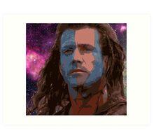 Highlander Galaxy Art Print