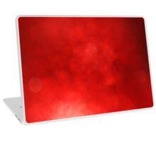 Red defocused lights background Laptop Skin
