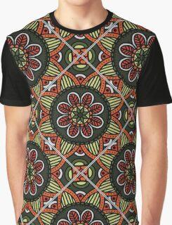 oriental tile seamless pattern Graphic T-Shirt