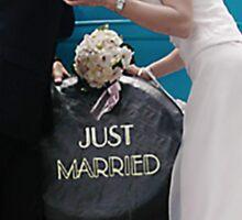 Country Wedding 2 Sticker