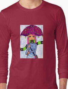 Umbrella Girl Long Sleeve T-Shirt