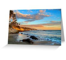 Laguna Beach: Rock Pile Beach Greeting Card