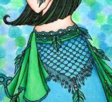 Lacy Belly dancer Sticker
