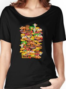 Arcade Food Women's Relaxed Fit T-Shirt