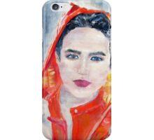 RAINY WOMAN iPhone Case/Skin