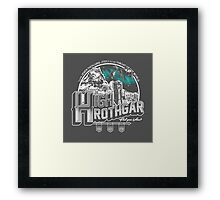 JOURNEY TO HIGH HROTHGAR Framed Print